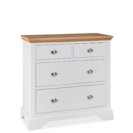 Hampstead Two Tone Painted 2+2 Chest of Drawers